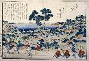 Katsushika Hokusai Ordnance Survey Of Countryside