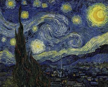 Vincent Van Gogh Starry Night Giclee on Canvas