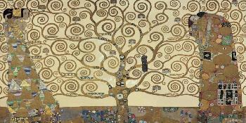 Gustav Klimt Tree Of Life Giclee on Canvas