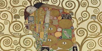 Gustav Klimt Embrace Giclee on Canvas
