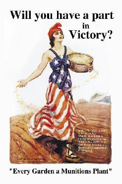 James Montgomery Flagg Will You Have A Part In VIctory? Giclee on Canvas