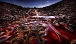 Jesus M. Garcia Last Lights In Rio Tinto III (red River)
