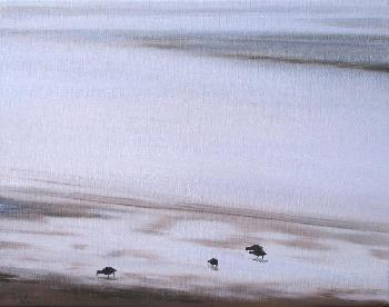Emmeline Craig 4 Little Coots Giclee on Canvas