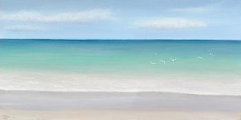 Emmeline Craig Caribbean Dreamn Giclee on Canvas