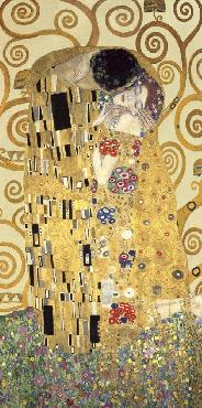 Gustav Klimt Kiss Giclee on Canvas