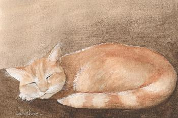 Emmeline Craig Minouchet Giclee on Canvas