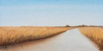 Emmeline Craig The Waterway Giclee on Canvas