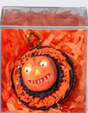Dept 56 Halloween Pumpkin JOL Ornament