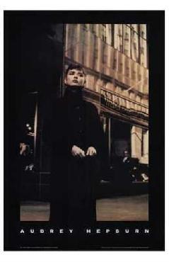 Anonymous Audrey Hepburn POSTER Canvas