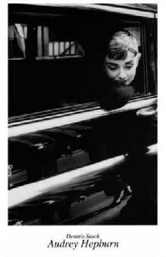 Anonymous Audrey Hepburn POSTER Canvas