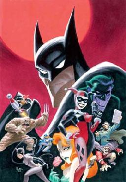 Bruce Timm Gotham:  Dangerous Dames and Demons