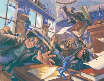 Mary Grandpre Harry Potter - Pixie Maynem Giclee on Paper