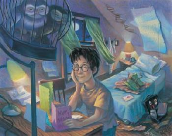 Mary Grandpre Harry Potter - Counting the Days Giclee on Paper - Part of Portfolio of 7 Prints