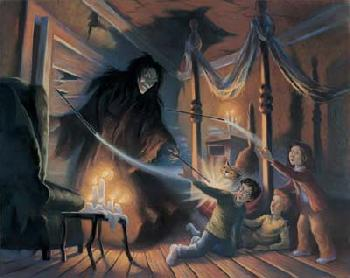 Mary Grandpre Harry Potter - Expelliarmus! Giclee on Paper