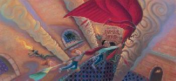 Mary Grandpre Harry Potter - Chamber of Secrets Giclee on Paper