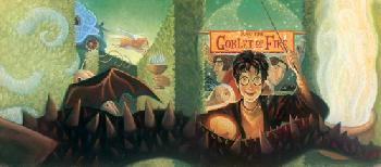 Mary Grandpre Harry Potter - Goblet of Fire Giclee on Paper