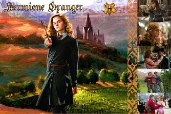 Harry Potter Hermione Granger Giclee on Paper