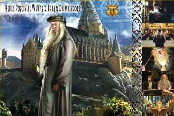 Harry Potter Albus Dumbledore Giclee on Paper