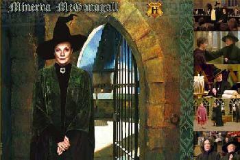 Harry Potter Menerva McGonagall Giclee on Paper