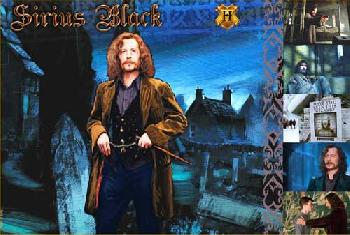 Harry Potter Sirius Black Giclee on Paper