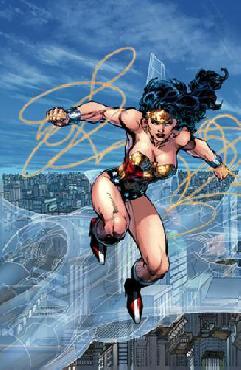 Jim Lee Trinity: Wonder Woman Giclee on Paper