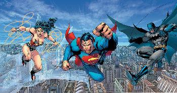Jim Lee Trinity Giclee on Canvas