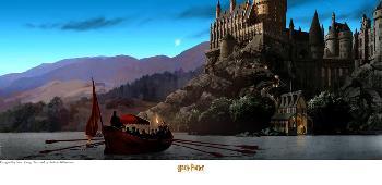 Stuart Craig Journey to Hogwarts Giclee on Paper