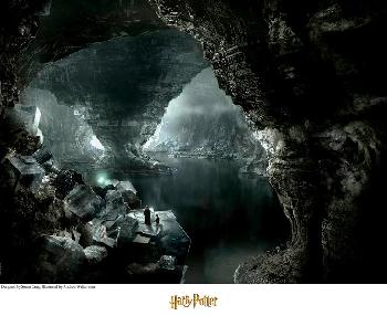 Stuart Craig The Cave Giclee on Paper