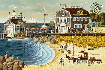 Charles Wysocki Clammers at Hodge