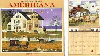 Charles Wysocki Americana 2008 Calendar