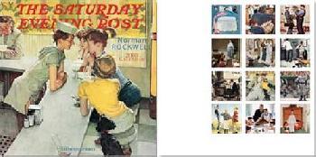 Norman Rockwell Saturday Evening Post 2008 Wall Calendar