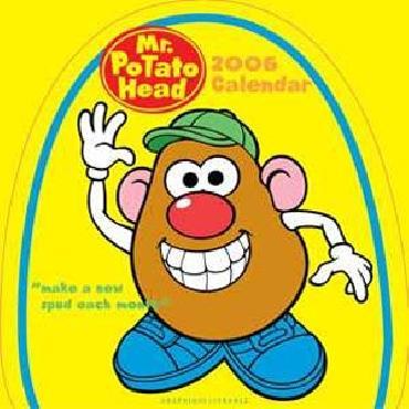 Hasbro Mr. Potato Head TM 2006 Calendar