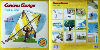HA Rey Curious George 2006 Calendar