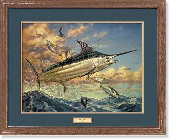Don Ray Tuna Surprise - Marlin Framed Open Edition