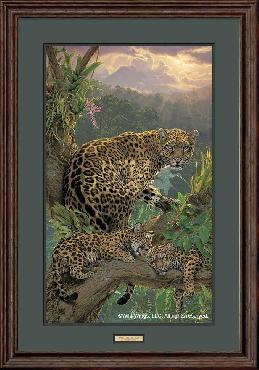 Lee Kromschroeder Family Tree - Jaguars Framed