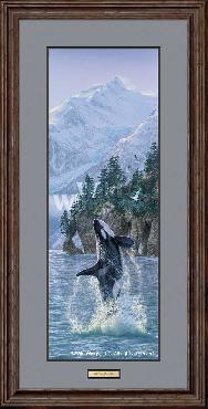 Lee Kromschroeder Vertical Rise - Orcas Framed