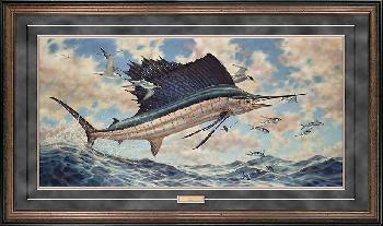 Don Ray Airborne - Sailfish Framed