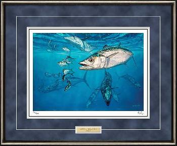 Don Ray Kings and Threadfins - Barracuda Framed