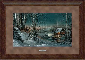 Terry Redlin Evening with Friends Framed Premium Encore Edition