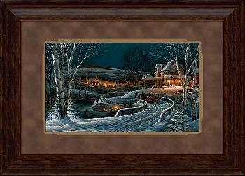 Terry Redlin Family Traditions Framed Premium Encore Edition