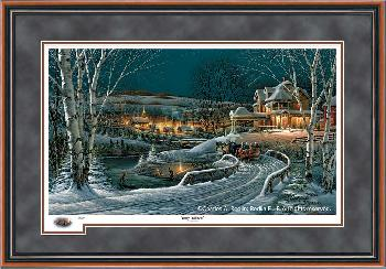 Terry Redlin Family Traditions Framed Remarqued