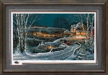 Terry Redlin Family Traditions Framed Premium Remarqued