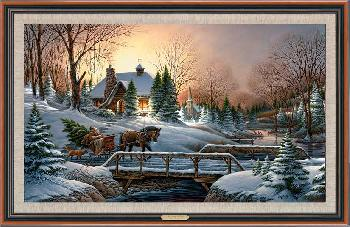 Terry Redlin Heading Home Framed Legacy Canvas