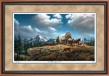 Terry Redlin O Beautiful for Spacious Skies Framed