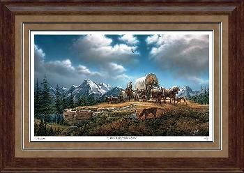Terry Redlin O Beautiful for Spacious Skies Framed Premium