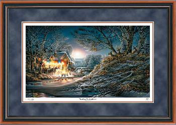 Terry Redlin Toasting Marshmallows Framed