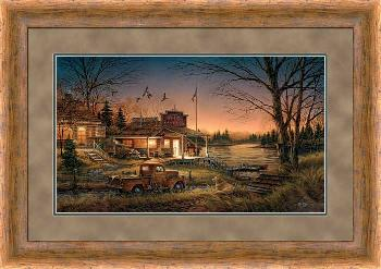 Terry Redlin Total Comfort Framed Premium Encore Edition
