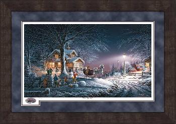 Terry Redlin Winter Wonderland Framed Premium Numbered Only Limited Edition