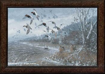 Michael Sieve Armistice Day Hunts Framed Canvas
