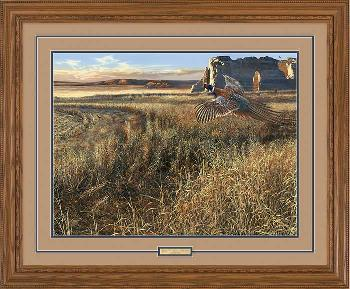 Scot Storm Legacy V - Prairie Heritage Framed Artist